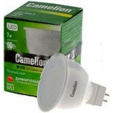 Лампа светодиодная Camelion MR16 GU5.3 220V 7W