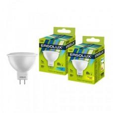 Лампа светодиодная Ergolux MR16 GU5.3 220V 7W